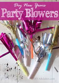 new years party blowers easy diy new years party blowers diy adulation