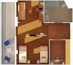 carnival breeze ocean suite category these