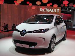 renault zoe 2016 2013 renault zoe electric car paris auto show live photos
