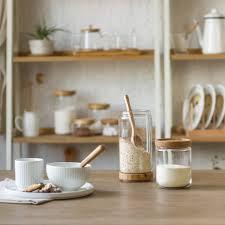 danandscott com wood kitchen jar photo stainless s