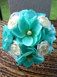 teal flowers bridal bouquets and bridal party flowers boutonnieres altars