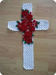 Crafts For Home Decoration Best 25 Crochet Cross Ideas On Pinterest Bookmark Crochet