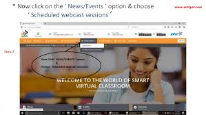 online smart class smart class online session user guide