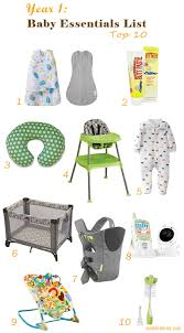 baby essentials 10 essential baby products for the year mod and mint
