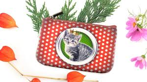 mlavi dog u0026 cat design wallets coin purses pouches makeup
