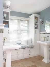 Bathroom Storage Seats Budget Bathroom Remodels