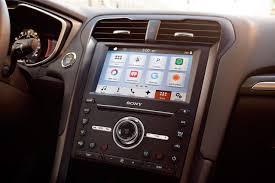 2017 ford fusion hybrid titanium sedan model highlights ford com