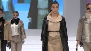 leather fashion show