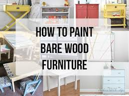 what is the best way to paint unfinished kitchen cabinets how to paint unfinished pine furniture anika s diy