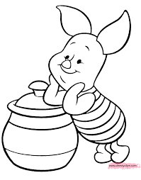 piglet coloring pages ba pooh coloring pages disney coloring book