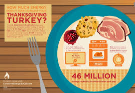 how much energy does it take to roast your thanksgiving turkey