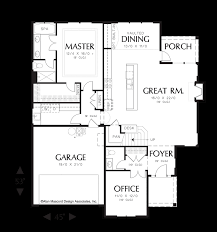 mascord house plan 22148 the sentinel