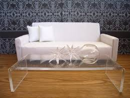 coffee table exciting acrylic coffee table decorating ideas