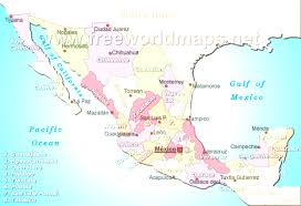 Map Of Zacatecas Mexico by Map Of Mexico Mesmerizing Mexco Map Evenakliyat Biz