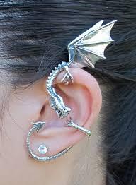 ear wrap elfin ear wrap silver marty magic store