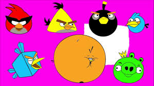 draw paint color angry bird tom jerry