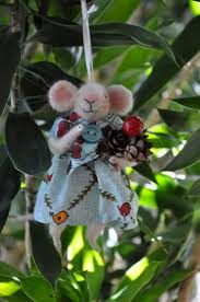 309 best felted mice images on pinterest mice holiday ornaments