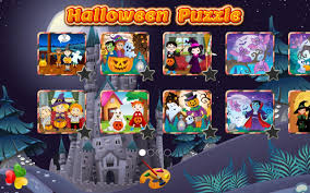 halloween family games puzzle for kids u0026 toddlers android apps