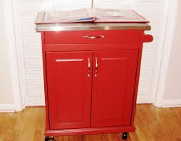 red kitchen island cart best kitchen island cart with breakfast bar three dimensions lab