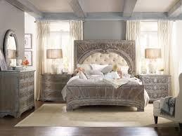 Vintage King Bed Frame Furniture Bedroom True Vintage King Upholstered Panel Bed