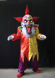 Scary Halloween Clown Costumes 25 Evil Clown Mask Ideas Scary Clowns Evil
