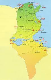 map of tunisia with cities www mappi net maps of countries tunisia