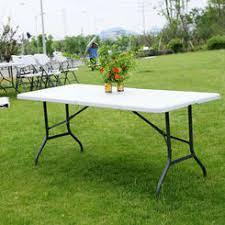 6 ft portable folding table 6 ft plastic folding tables