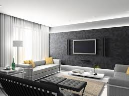 modern living room ideas with black leather sofa colors pictures