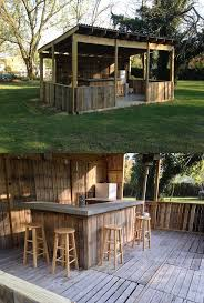 Kitchen Outdoor Ideas Best 25 Backyard Bar Ideas On Pinterest Outdoor Garden Bar