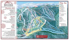 Magic Mountain Map Red Lodge Mountain Resort Trail Map Skicentral Com