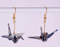 origami earrings etsy