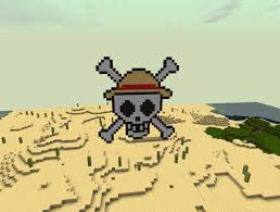 One Piece Flags Straw Hat Pirates Logo One Piece Minecraft Project