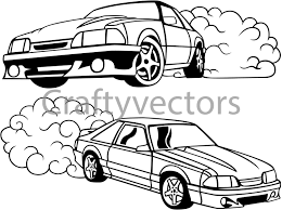 Old Ford Truck Vector - ford mustang fox body vector svg cut file