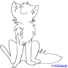 how to draw an anime cat sitting step by step anime animals
