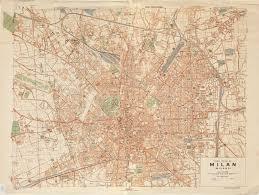Milano Italy Map by