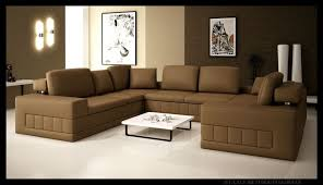 living room enjoyable brown faux leather sofas round pedestal