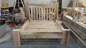 Reclaimed Wood Bed Frames Beds Made Of Wood Cozy Home Design