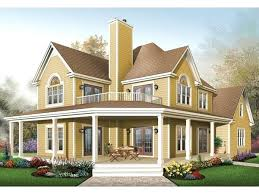 farmhouse wrap around porch wrap around porch country house plans rotunda info