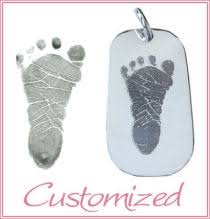 baby remembrance jewelry handprint footprint jewelry personalized memorial jewelry custom