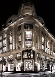siege social chanel creative review heritage meets digital in flagship burberry