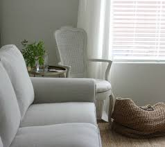 linen slipcovered sofa my ektorp sofas get a luxurious ikea hack from bemz hello lovely