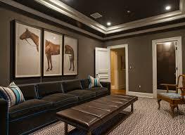 modern basement living room waterproofing