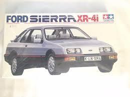 tamiya 1 24 ford sierra xr 4i model kit 2452 ebay