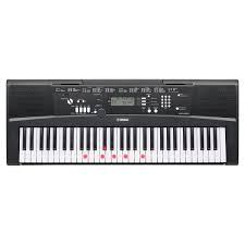 yamaha keyboard lighted keys yamaha ez220 61 key lighting keyboard at gear4music com