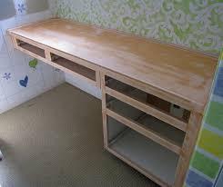 Diy Built In Desk Plans Desk Diy Built In Desk Plans