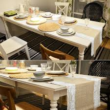 aliexpress com buy vintage table runners for wedding decoration