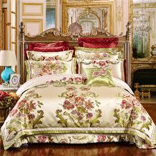 Royal Bedding Sets 4 6 10pcs Jacquard Luxury Wedding Royal Bedding Sets King