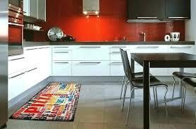 tapis de cuisine design tapis de cuisine orange cuisine orange et gris tapis de cuisine