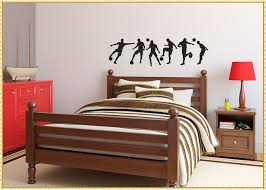 amazing soccer wall decals how to decorate a room for child