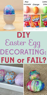 Easter Egg Decorations Craft Kit by Diy Easter Egg Decorating Ideas Frugal Fun Or Fail